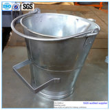 Hot Galvanized Steel Bucket with Handle