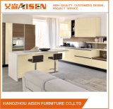 Aksl-012 Modular Kitchen Furniture Bakery Painted Kitchen Cupboard
