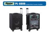 Porbable Suitcase Amplifier Loudspeaker Box Pl-6608 PA Speaker