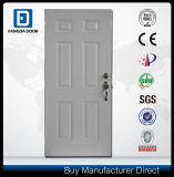 Fangda Classic America Style Panel Peephole Exterior Steel Door