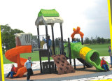 2015 Hot Selling Outdoor Playground Slide with GS and TUV Certificate (QQ14006-1
