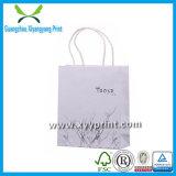 High Quality Custom White Kraft Paper Bag with Logo Print