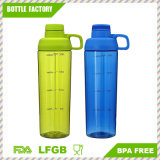 Hot Sale Food Grade Plastic Sports Water Bottle Easy to Carry