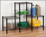 Chrome Metal Wire Shelving Unit for Living Room (CJ454580B3E)