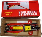 345mm Max Height Big Saddle 2 Ton Hydraulic Jack