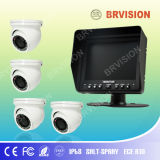 Shutter Monitor with Dome CCD Camera for Security System