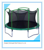 12FT Outdoor Kids Trampoline with Safety Net Jumping Trampoline