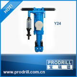 Y6 Y20 Y24 Y26 Hand-Held Pneumatic Rock Drill Machine for Quarry and Mine