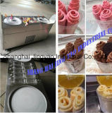 Three Compressors Fried Ice Cream Rolls Machine