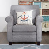 American Style Classic Fabric Sofa Chair