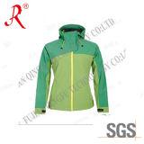 Women ′s Soft Shell&Polar Fleece Outdoor Sport Jacket (QF-421)
