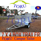 Hot Galvanised Dipping Trailer Cage Box Trailer