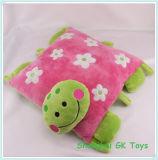 a Series of Cushions Colorful Plush Cushions