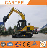 Hot Sales CT85-8b (8.5t) Multifunction Backhoe Crawler Excavator