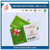 Fashional Promotion Gift Abnormity Plastic Barcode Card