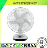 16 Inch Solar Emergency Rechargeable Table Fan with USB Charger