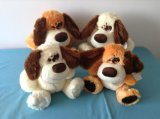 Colour Plush and Stuffed Dogs Toy