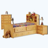 Knock Down Furniture Wooden Drawer Chest (WJ278344)