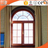 American Style Wood Aluminum Window for California USA Customer