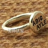 Stamped Ring With Any Word