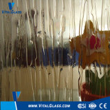Tempered Bronze Water Fall/Rain Patterned/Figured/Acid Etched/Ultra Clear Float Glass/Rolled Glass