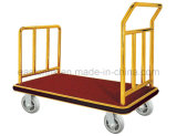 Hotel Luggage Trolley with Replaceable Carpet