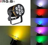 RGBW 4in1 7X8w PAR36 LED PAR Can Light for Indoor Stage