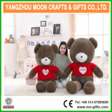 Fluffy Valentine Day Gift Plush Stuffed Sweater Bear