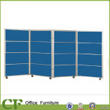 Movable Office Foldable Fabric Partition with Aluminum Frame