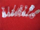 Clear Domeless Quartz Enail with Coil