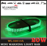 Small Type Magnetic Mount Green LED Mini Lightbar with Ce
