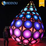 Inflatable LED Balloons Hanging Custom Inflatable Balloon Christmas Balls Decorations