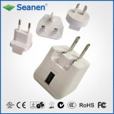 5VDC 2A White Color Universal/Multi Travel Charger
