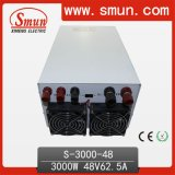 3000W48V62A DC Power Supply DC Output (S-3000-48)