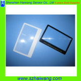 Customized Logo Promotional 3X Pocket Reading Magnifier, Card Magnifier Hw-M808