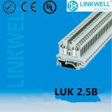 Copper Contact Phonix UK Terminal Block with Ce (LUK 2.5B)