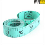Green Promotional Gift Fiberglass PVC Tailor Measuring Tape (FT-068)