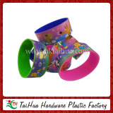 Eco-Friendly Silicone Wristband with Heat Transfer Printed (TH-HT18)