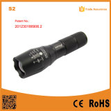 S2 10W 500lm Xml T6 High Power 18650 Rechargeable LED Hand Torch Light G700 Flashlight