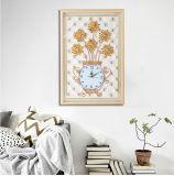 Home Living Room The Diamond Relievo Clock Wall Clock Decoration Clock