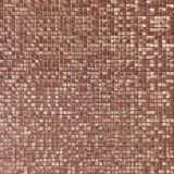 Golden Red Cube Decor Rustic Wall and Floor Tile