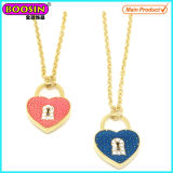 New Fashion Metal Gold Love Heart Pendant Necklace