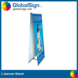 Double Sides Printed L Banner Stand (UDLB-D2)