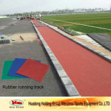 Customized Recycled Rubber Flooring Running Track