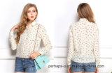 Graceladies Chiffon Print Long Sleeve Shirt