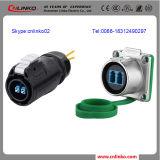 Fiber Optical Connector /Ip67 Fiber Optic Quick Connector /Fast Double Mode Fiber Connector
