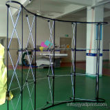 Stable! ! ! Magnetic Curved PVC Aluminum Pop up