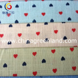 Cotton Imitate Linen Printed Fabric for Garment Textile (GLLML098)