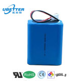11.1V 4000mAh Lithium Ion Battery Pack 3s2p for LED Light