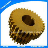 Brass Hardware CNC Machining Transmission Gear for Servo Motor
